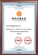 Top 100 Enterprises in Sichuan Province